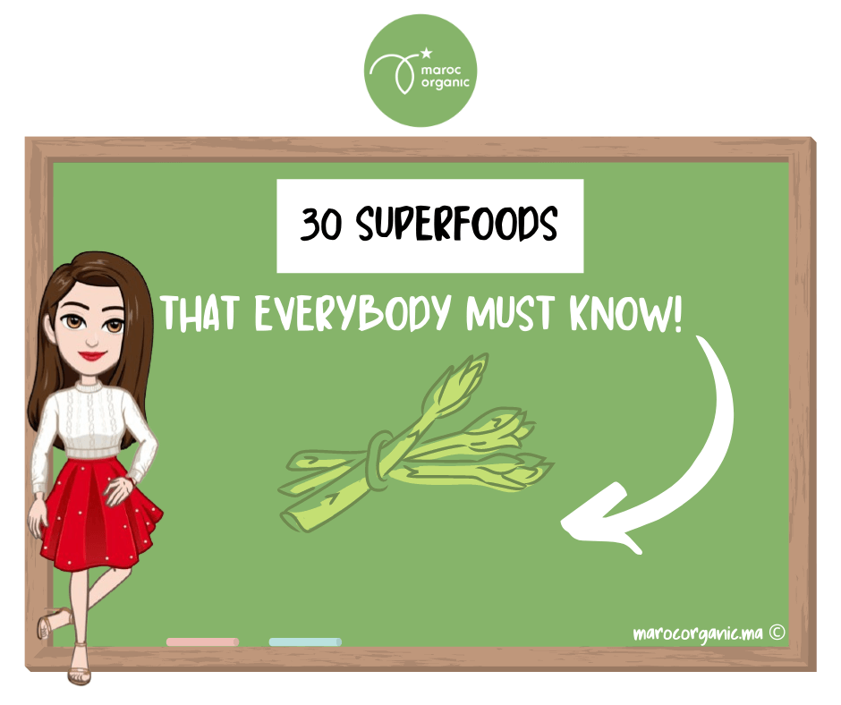 30 superfoods that everybody must know!